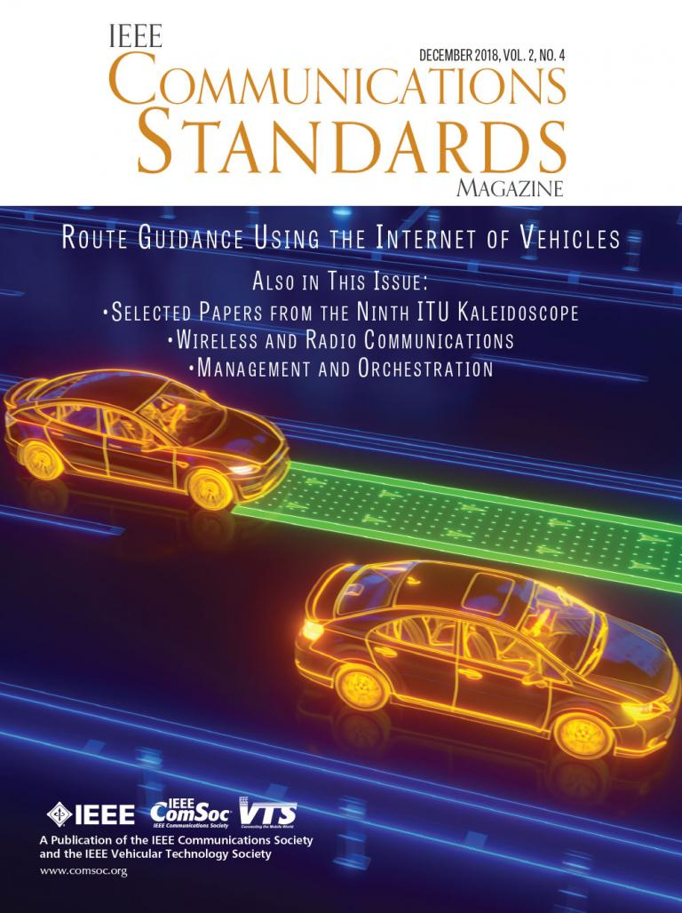 IEEE Communications Standards Magazine December 2018 Cover