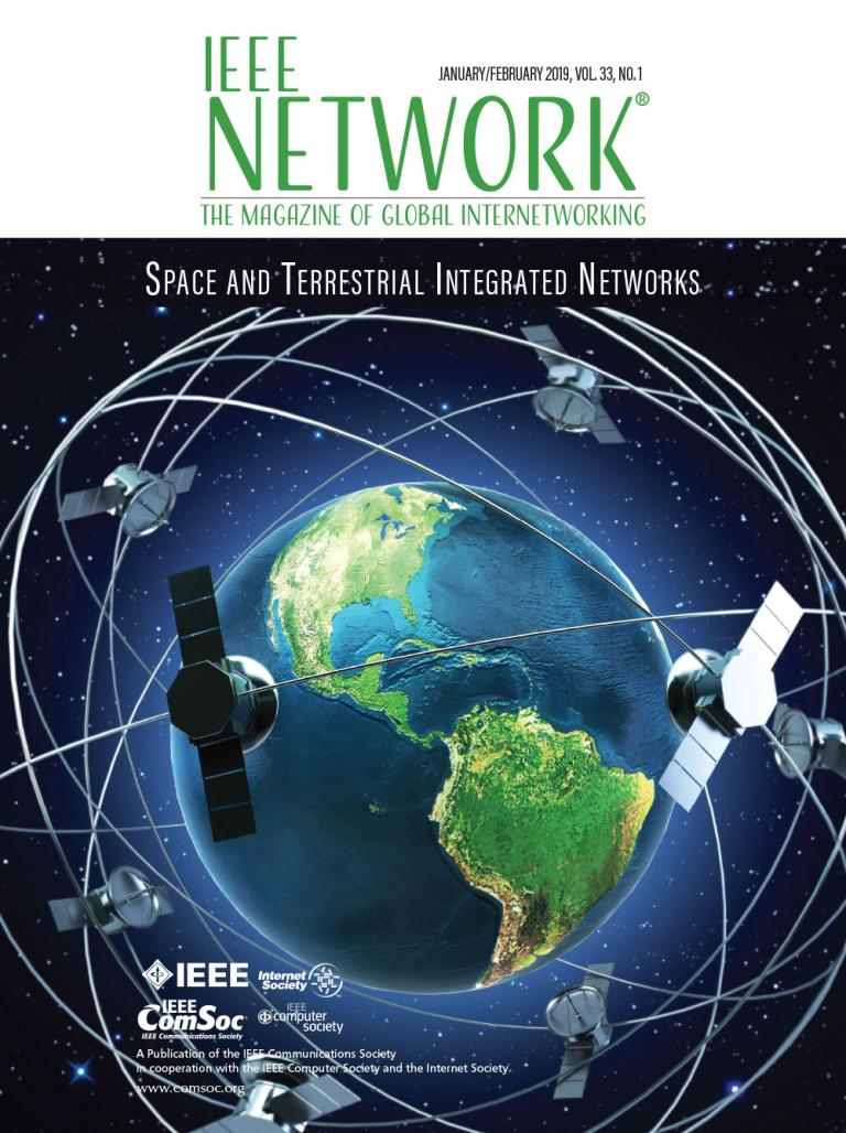 IEEE Network January 2019 Cover Image