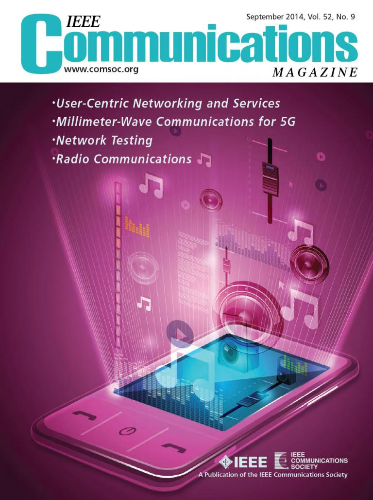 IEEE Communications Magazine September 2014 Cover