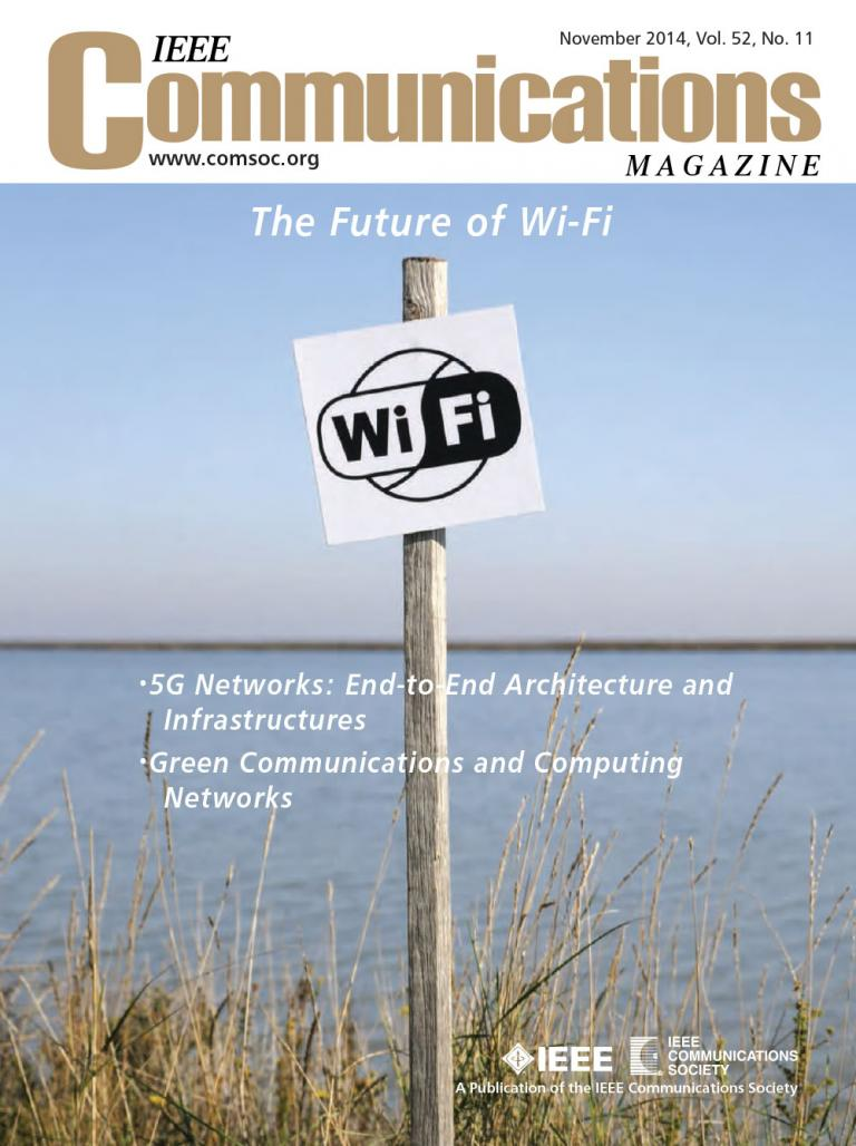 IEEE Communications Magazine November 2014 Cover