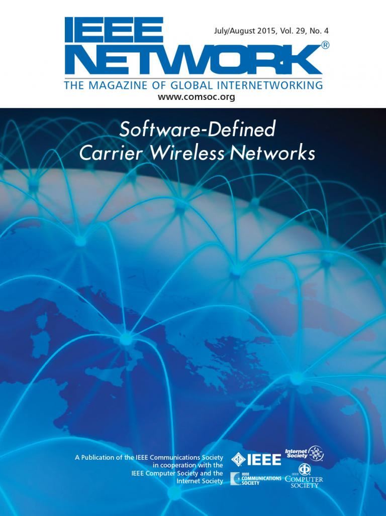 IEEE Network July 2015 Cover
