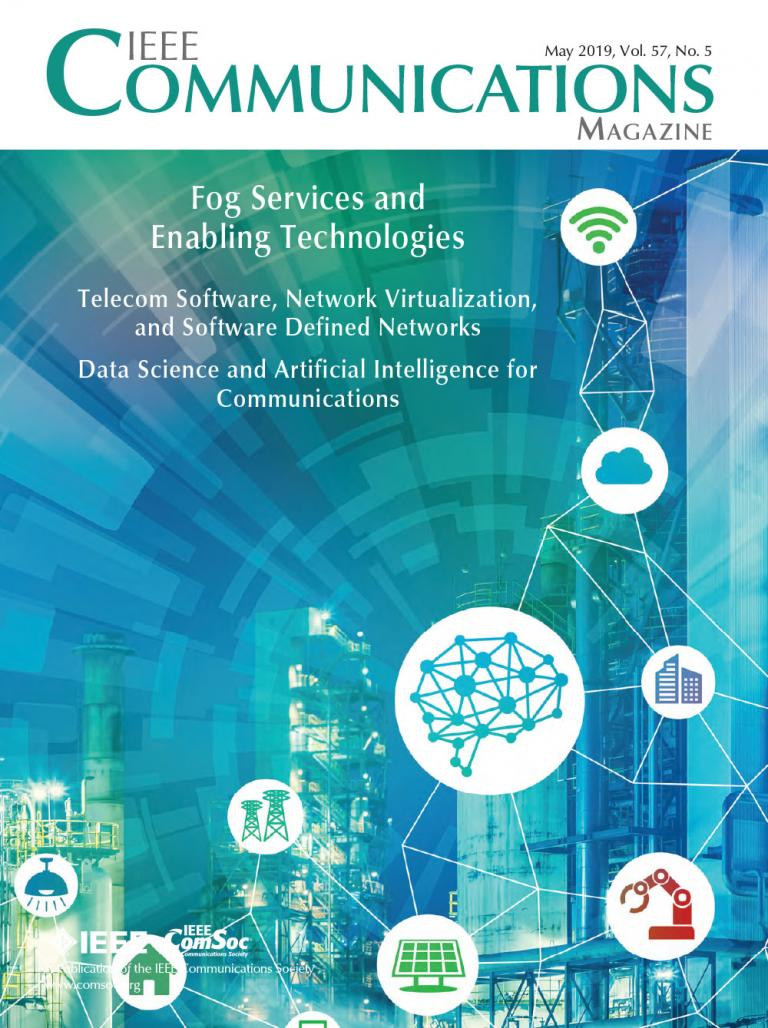 IEEE Communications Magazine May 2019 Cover