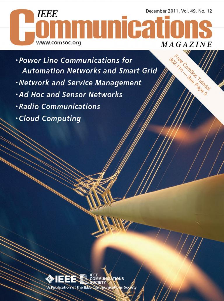 IEEE Communications Magazine December 2011 Cover