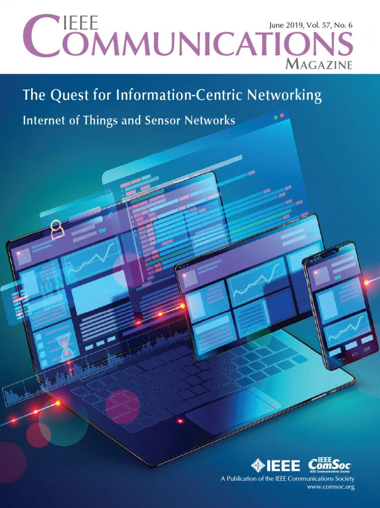 IEEE Communications Magazine June 2019 Cover