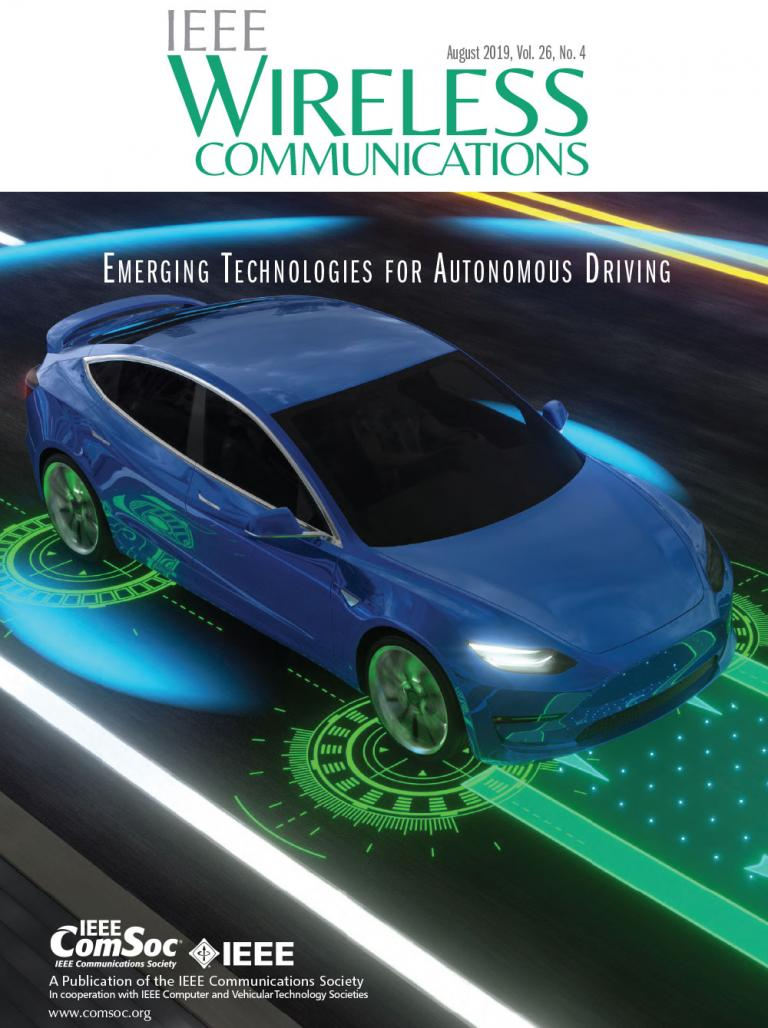 IEEE Wireless Communications August 2019 Cover