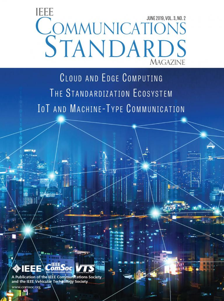 IEEE Communications Standards Magazine June 2019 Cover