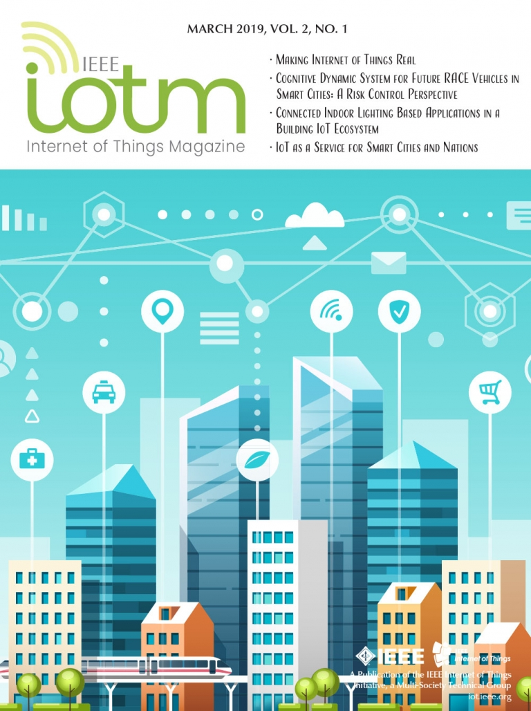 IEEE Internet of Things Magazine March 2019 Cover