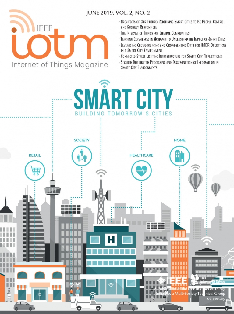 IEEE Internet of Things Magazine June 2019 Cover