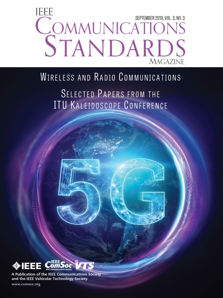 IEEE Communications Standards Magazine September 2019 Cover