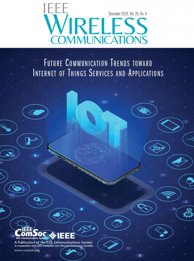 IEEE Wireless Communications December 2019 Cover