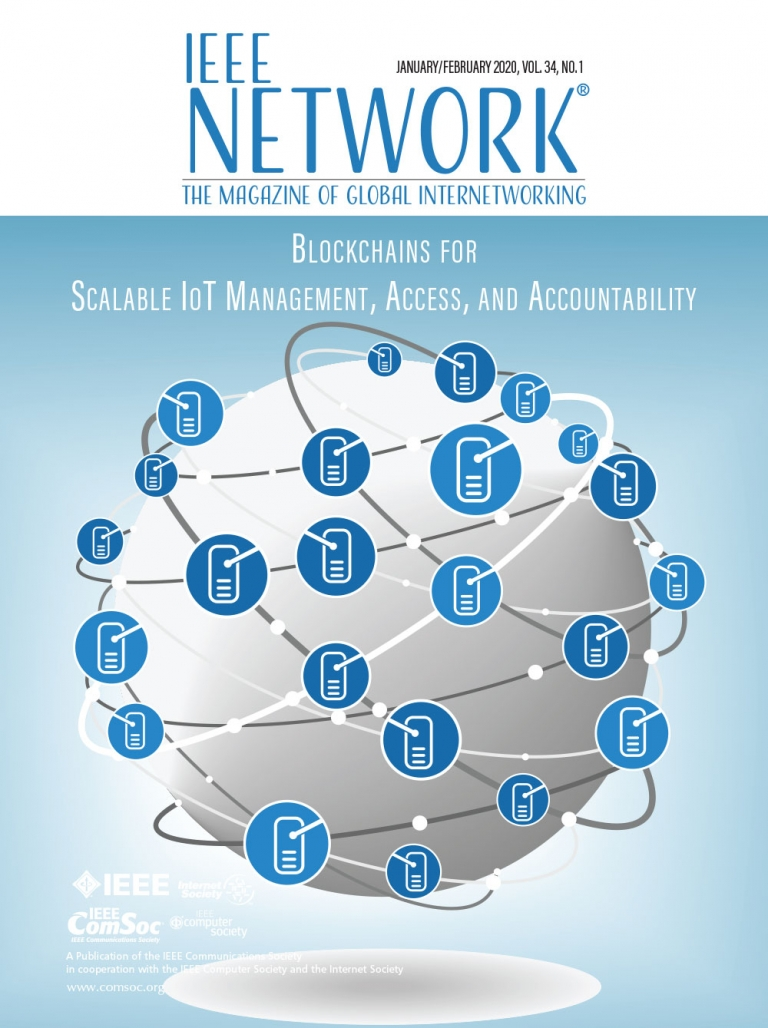 IEEE Network January 2020 Cover