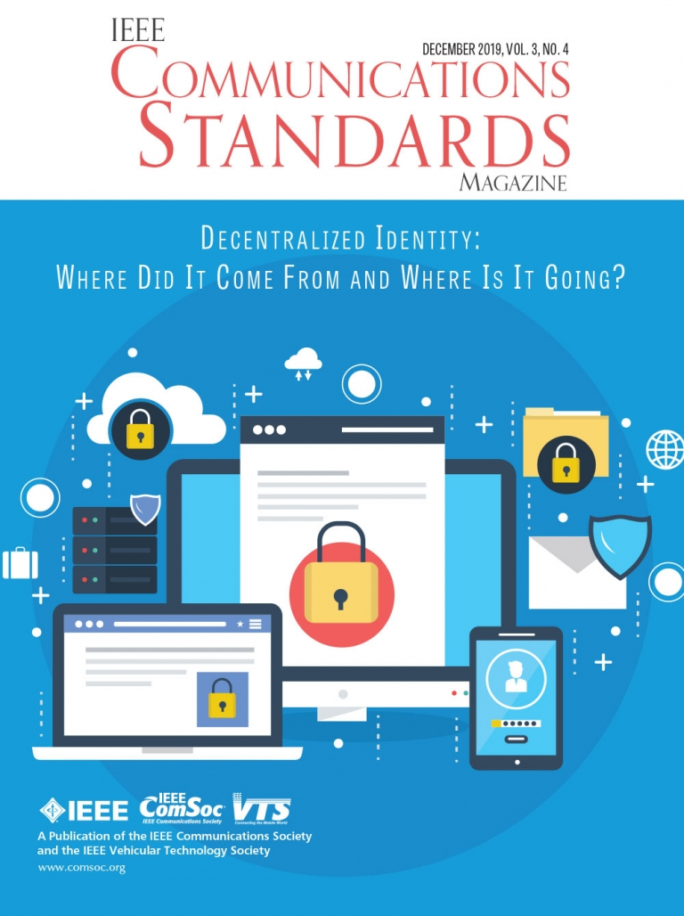 IEEE Communications Standards Magazine December 2019 Cover