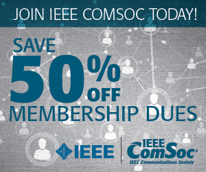 50% off ComSoc Membership