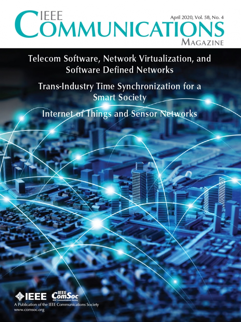 IEEE Communications Magazine April 2020 Cover