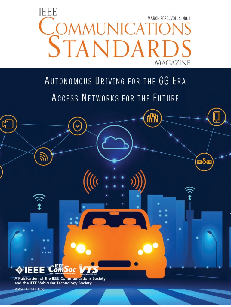 IEEE Communications Standards Magazine March 2020 Cover