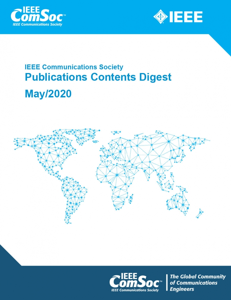 Publications Contents Digest May 2020 Cover