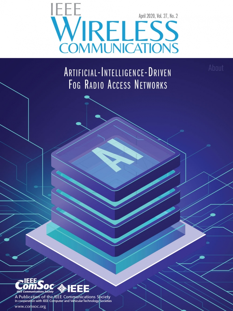 IEEE Wireless Communications April 2020 Cover