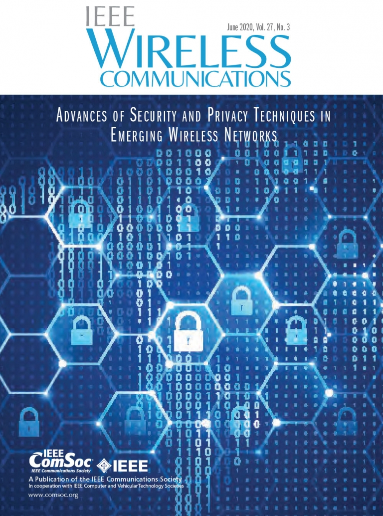 IEEE Wireless Communications June 2020 Cover