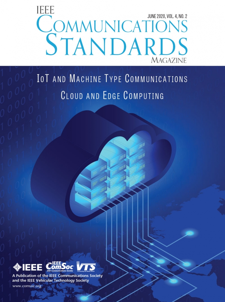 IEEE Communications Standards Magazine June 2020 Cover