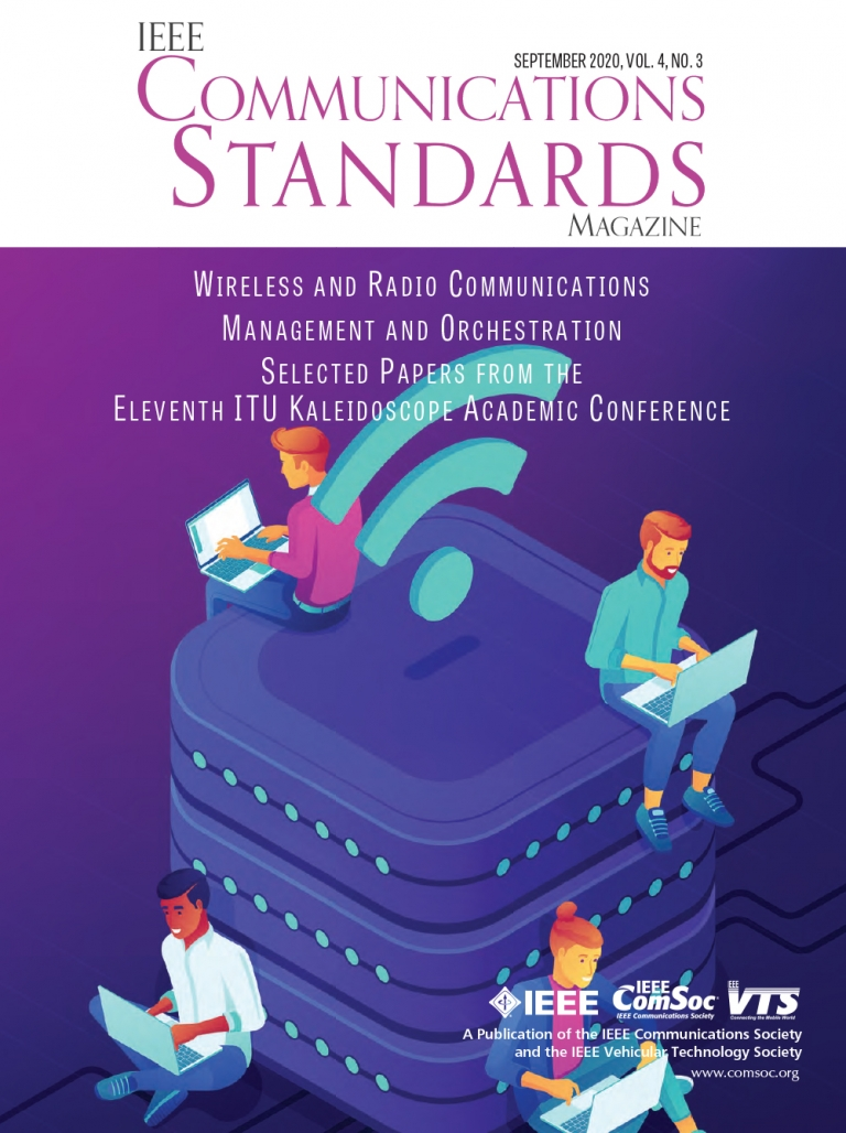 IEEE Communications Standards Magazine September 2020 Cover