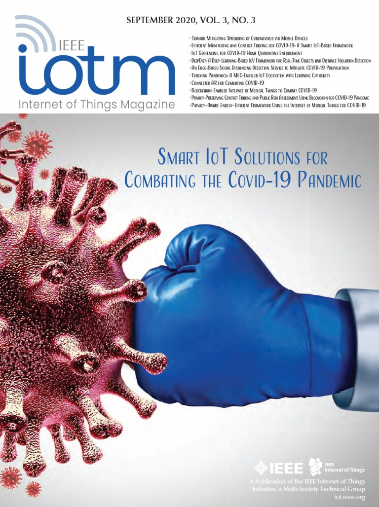 IEEE Internet of Things Magazine September 2020 Cover