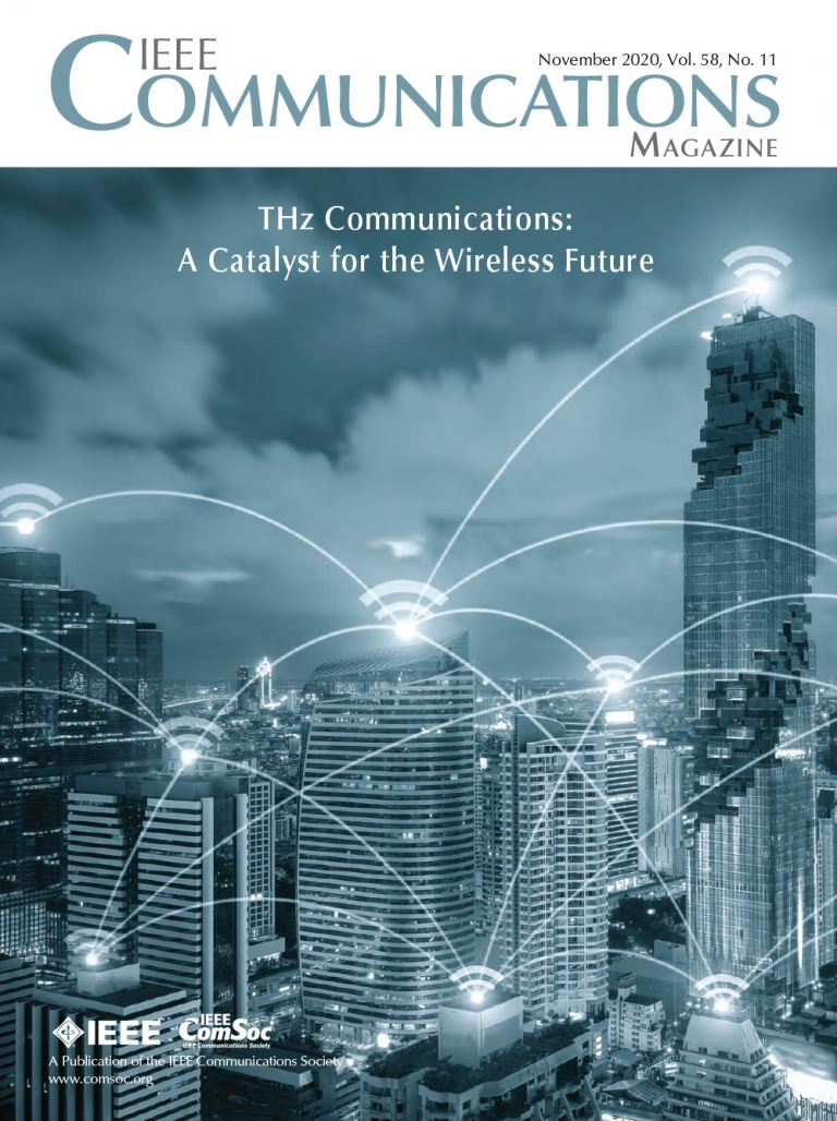 IEEE Communications Magazine November 2020 Cover