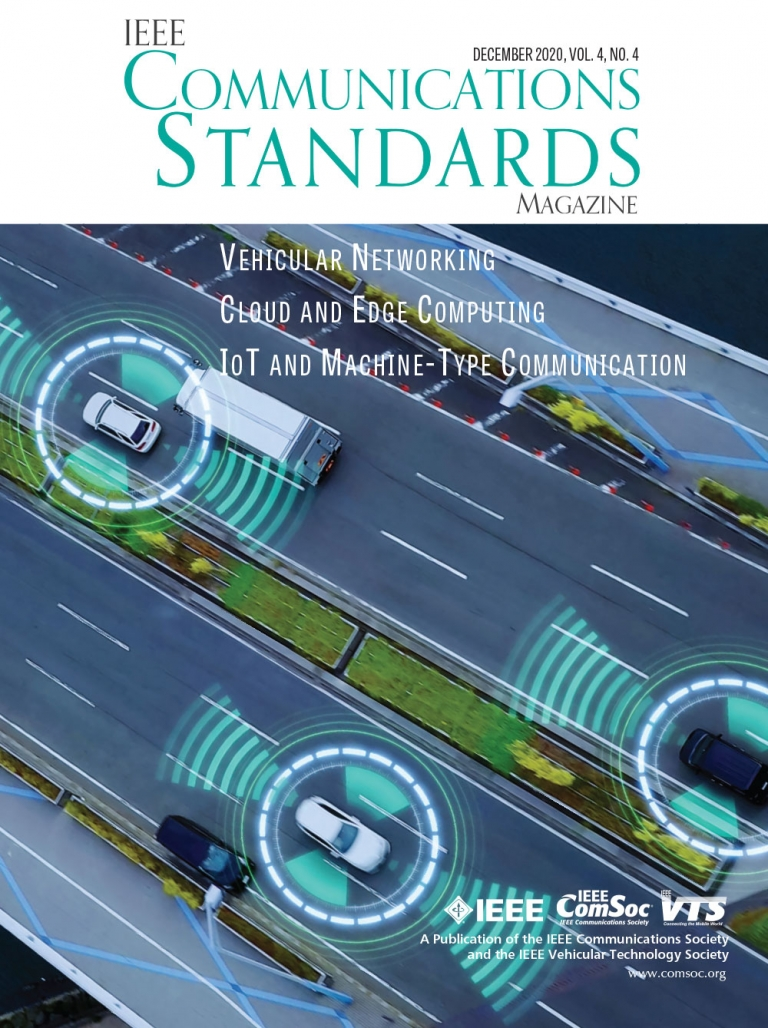IEEE Communications Standards Magazine December 2020 Cover