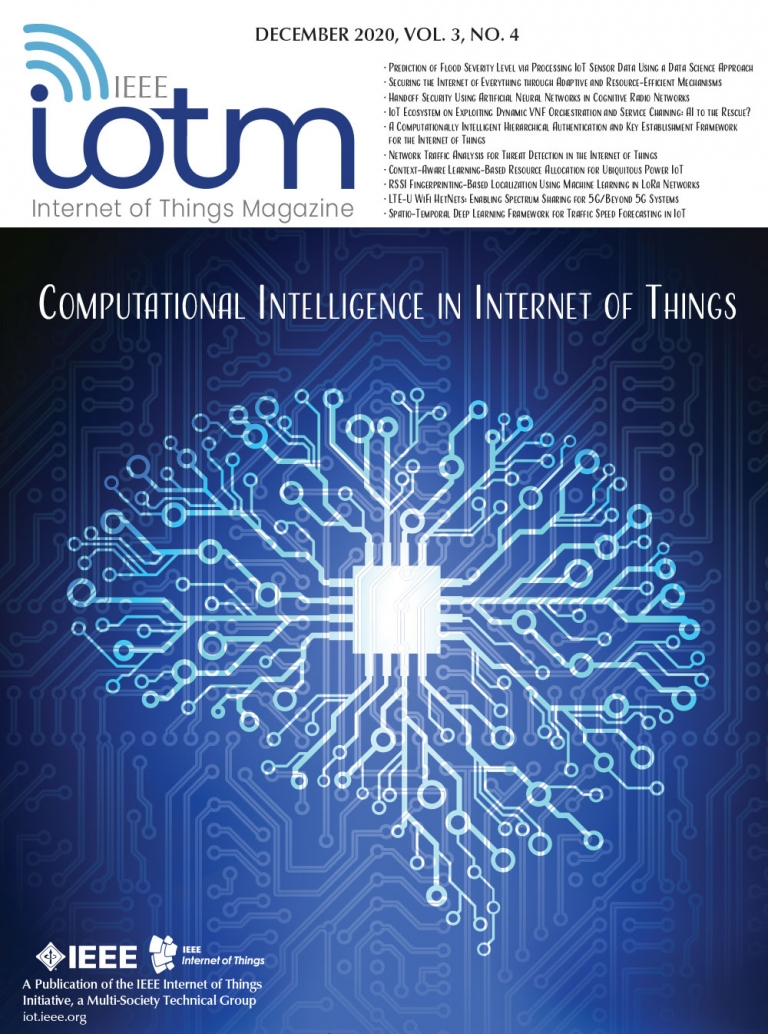 IEEE Internet of Things Magazine December 2020 Cover