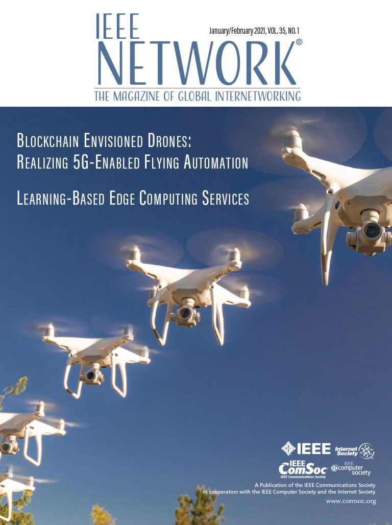 IEEE Network January 2021 Cover
