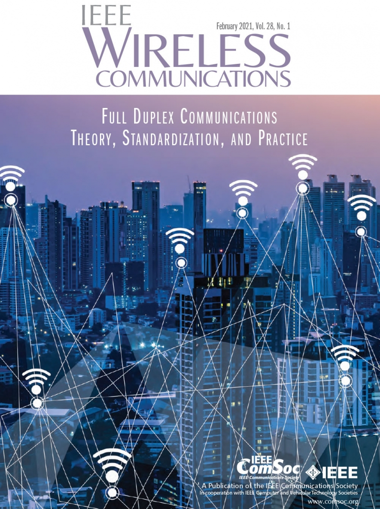 IEEE Wireless Communications February 2021 Cover