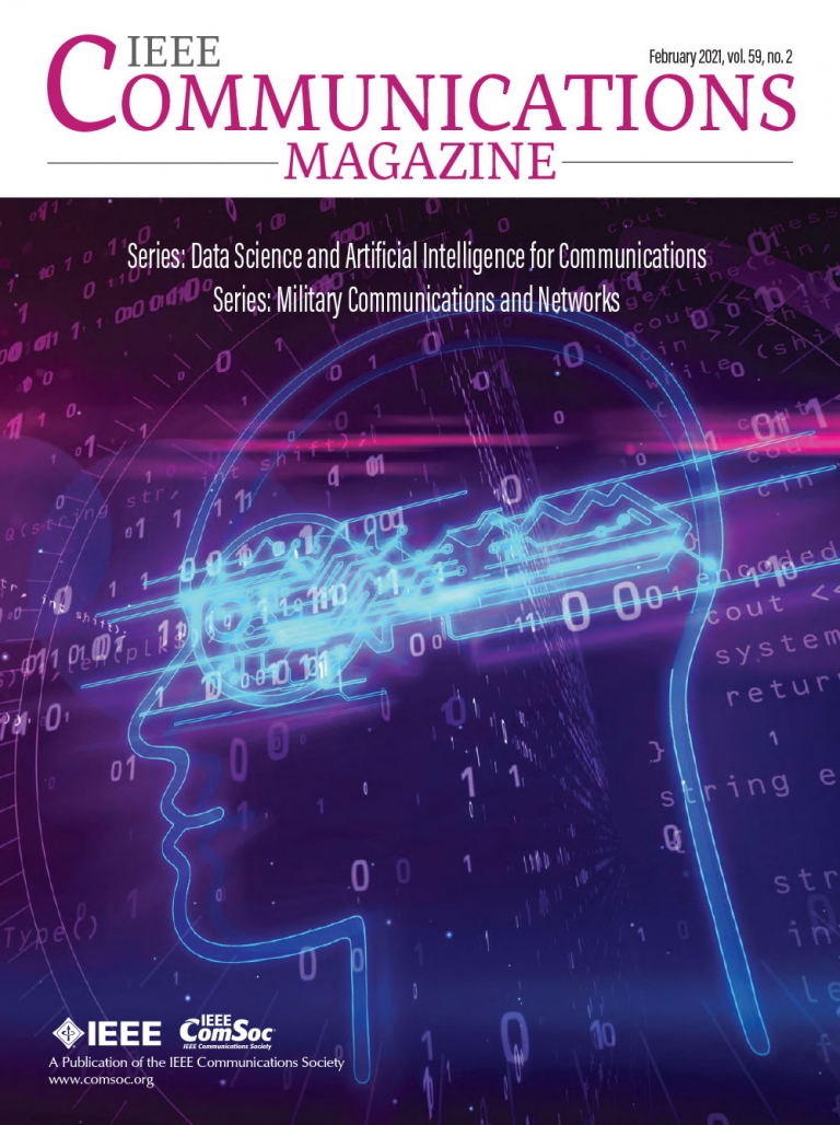 IEEE Communications Magazine February 2021 Cover