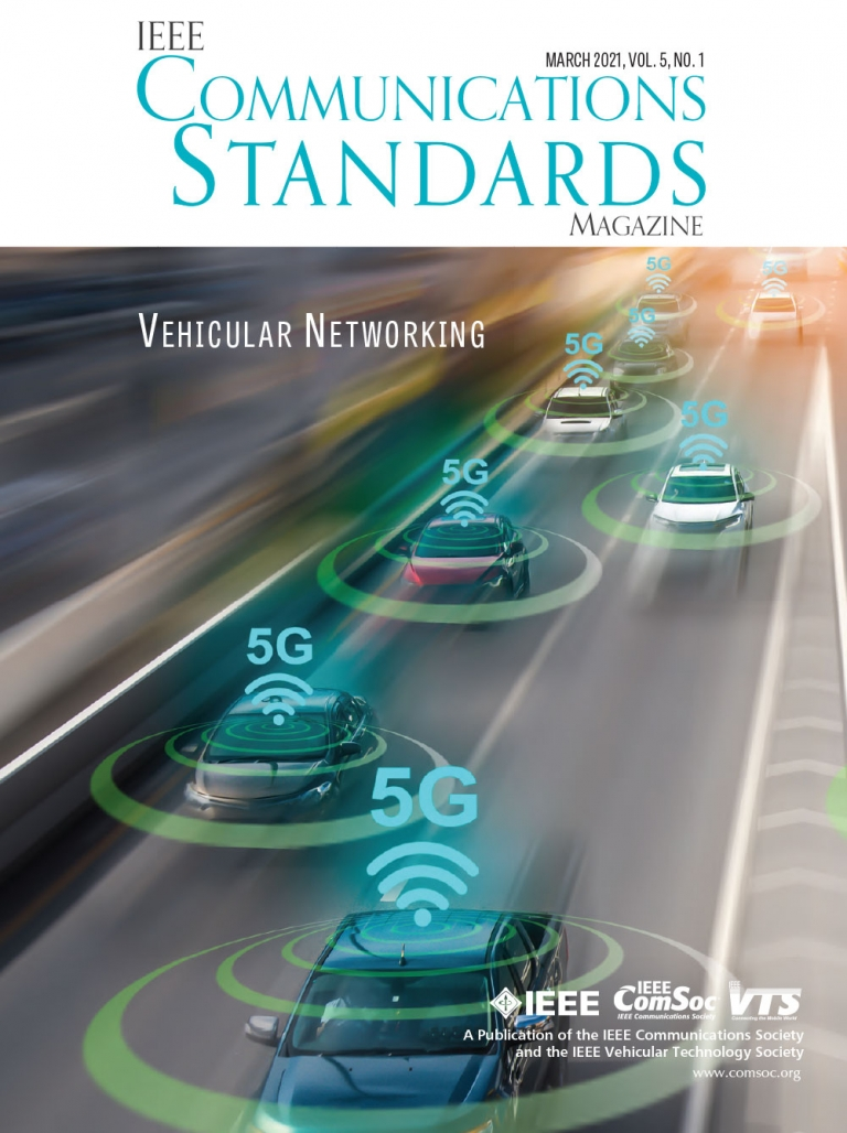 IEEE Communications Standards Magazine March 2021 Cover