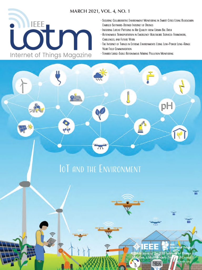 IEEE Internet of Things Magazine March 2021 Cover