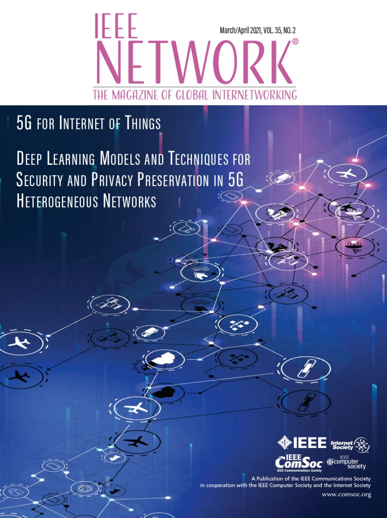 IEEE Network March 2021 Cover