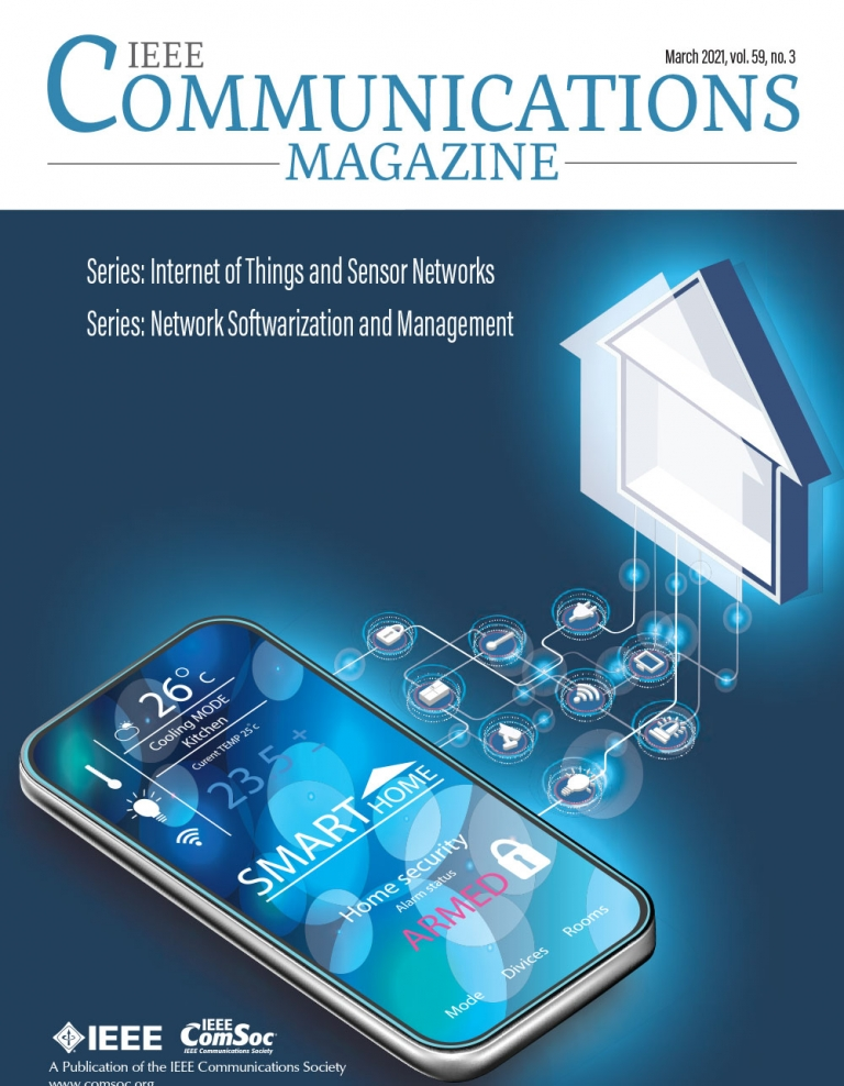 IEEE Communications Magazine March 2021 Cover